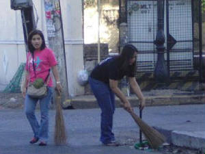 Intramuros Clean-up Drive